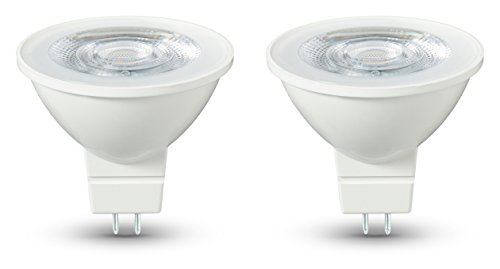 AmazonBasics LED Bulb GU5.3, 4.5W to 35W, 345 lumens - Pack of 2