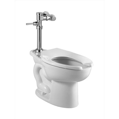 American Standard 2858.128.020 Madera 1.28 Gpf Elongated Toilet With Manual Flush Valve, White front-943328