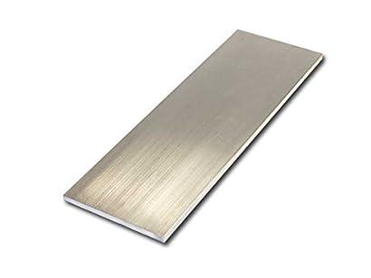 "3//16/"" Aluminum 1/"" x 24/"" Bar Sheet Plate 6061-T6 Mill Finish"