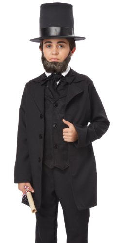California Costumes Abraham Lincoln/Andrew Jackson Child Costume