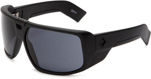 Spy Optic Touring Sunglasses,Matte Black Frame/Grey Lens,One Size front-1026594