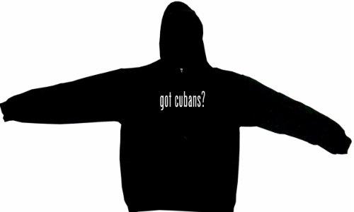 Got Cubans Men'S Hoodie Sweat Shirt Xxxl (3Xl), Black