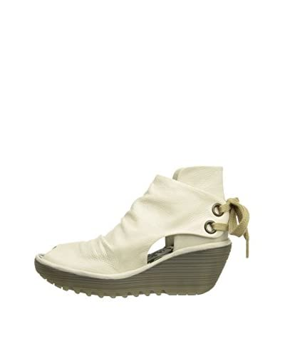 Fly London Botines Yema Blanco