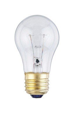 Westinghouse Appliance Light Bulb 40 W 350 Lumens A15 Med Base 3-1/2 In.Clear 2700K Carded front-556383