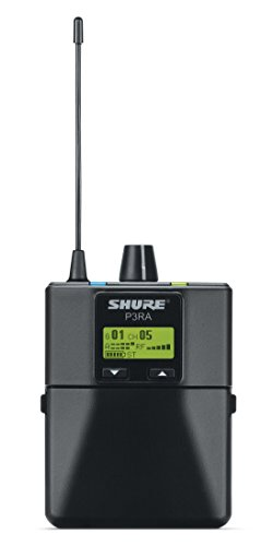 Shure P3Ra Professional Bodypack Receiver For Psm300 Stereo Personal Monitor System, G20