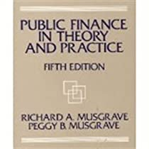 Public Finance in Theory and Practice (5th Edition)