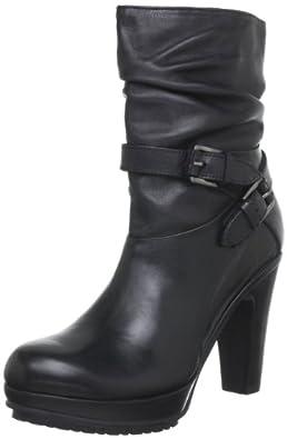 Buffalo London 1016-2 N COW BROOKLYN 146042, Damen Stiefel, Schwarz (BLACK 01), EU 41