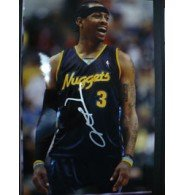 Signed Iverson, Allen (Denver Nuggets) 12x18 Photo autographed by Powers+Collectibles