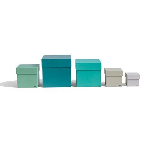 Aufbewahrungsboxen Set, 5 Stück