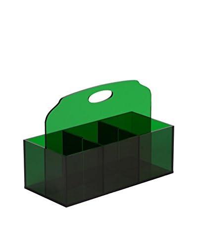 Sheratonn Porta Posate Plexi Verde