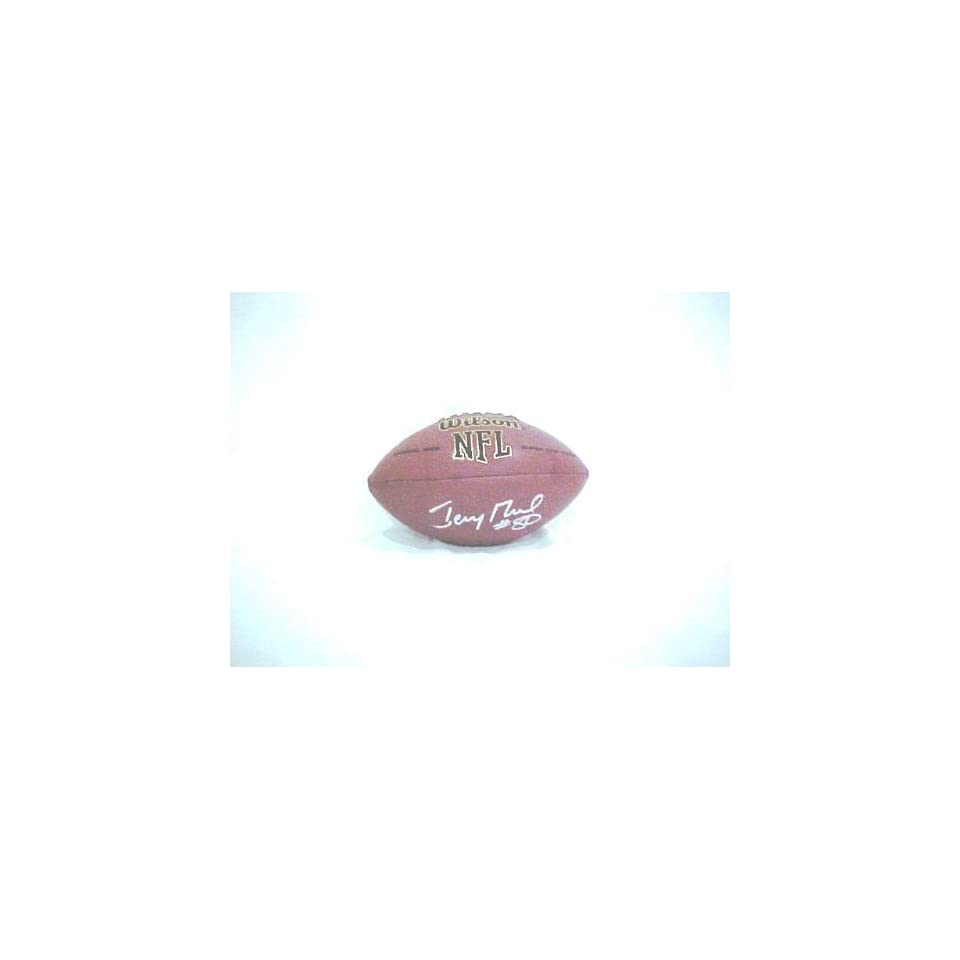 Jerry Rice Hand Signed Autographed San Francisco 49ers Full Size Wilson Replica NFL Football