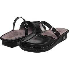 Alegria Women's Tuscany Clogs, BLACK BURNISH, 40 M/B