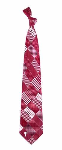 Philadelphia Phillies Patchwork Silk Necktie at Amazon.com
