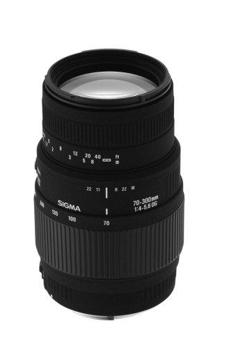 Sigma 70-300mm f/4-5.6 DG Macro Telephoto Zoom Lens for Nikon SLR Cameras
