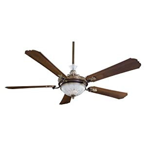 "Minka Aire F900BCW Cristafano Belcaro Walnut 68"" Ceiling Fan"