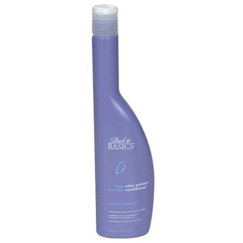 Back To Basics Blue Lavender Color Protect 11.5 oz. Shampoo + 11 oz. Conditioner (Combo Deal)