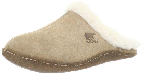 Sorel Nakiska Slide NL1612, Pantofole Donna, Beige (212 Incense), 38