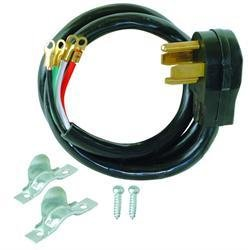 4-Wire 30A Dryer Power Cord-5' Length