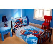 Dc 2 Count Toddler Sheet Set, Super Friends (Discontinued By Manufacturer) front-998362