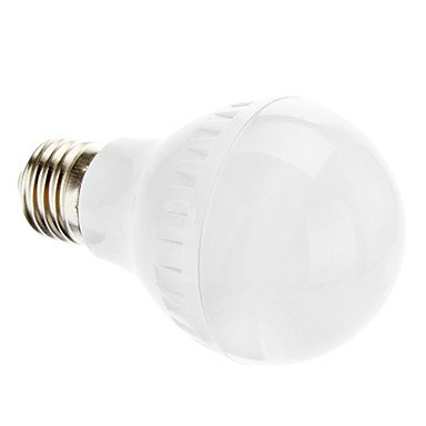 E27 5W 46X3014Smd 350Lm 4000K Natural White Light Led Ball Bulb (220-240V)