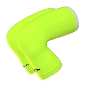 Buy DeFeet Kneekers HI-Vis Yellow Coolmax Cycling Running Hiking Knee Warmers - KNY by Defeet