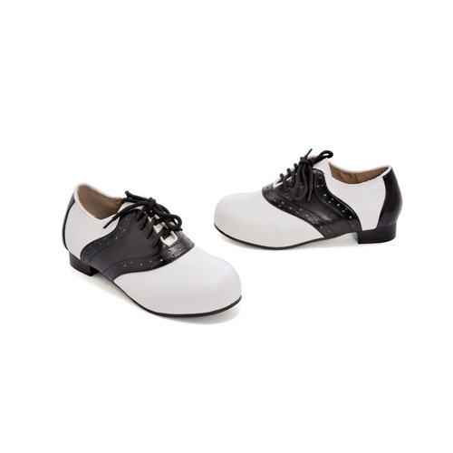 ELLIE SHOES - Saddle (Black/White) Child Shoes - Large (2-3) (Saddle Shoes For Girls compare prices)