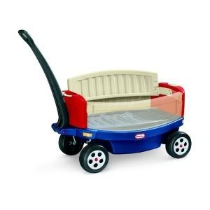 Toy / Game Little Tikes Ride And Relax Wagon With Seatbelts And Drink Holders For Easy Storage & Transportation front-1005072
