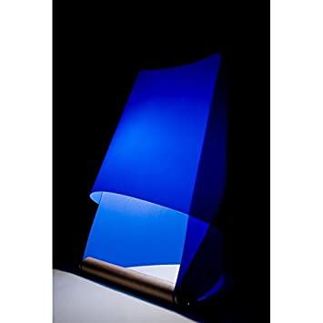 lampe de chevet chevet et de bureau bleu furoshiki. Black Bedroom Furniture Sets. Home Design Ideas