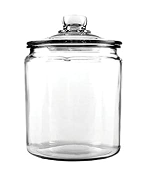 Anchor Hocking Heritage Hill Glass Cookie Candy Jar
