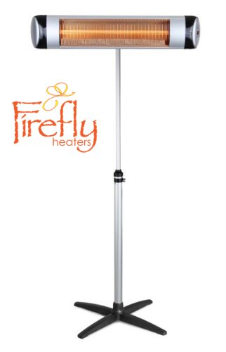 Free-Standing Aluminium Pole with Adjustable Height for Firefly Heater