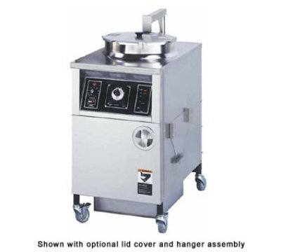 Bki Alf 2081 Large Volume Manual Fryer W Auto Lift 48 Lb