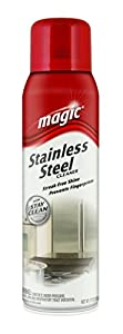 Magic 50333020 Stainless Steel Magic Cleaner, 17-Ounce Aerosol Spray