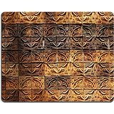 luxlady-gaming-tapis-de-souris-dimage-38793475-mur-elevation-details-de-la-fleur-forme-decorative-or