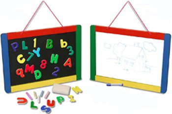 Magnetic Chalk/Dry Erase Board -- Case of 2