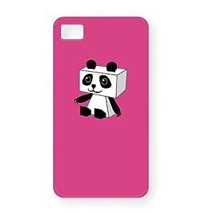 パンダ iPhone4Sシェルカバー(ピンク)