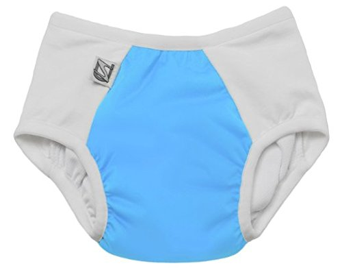 Super Undies Pull-On Training Pants Size 1 (Medium), The Aquanaut (Light Blue)