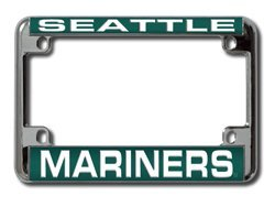 Rico Seattle Mariners Laser Motorcycle Frame - Seattle Mariners One Size