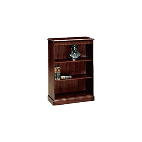 Hon 3-Shelf Laminate Bookcase, 35-3/4 by 14-5/16 by 49-5/8-Inch, Mahogany