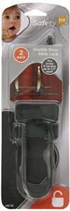 "Safety 1st Cabinet Slide Lock 5-1/2"" Carded 2 / Pack"