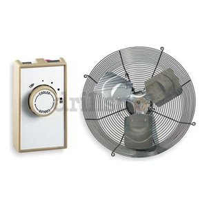 Dayton 7f666 Attic Exhaust Fan With Classic Steel Color