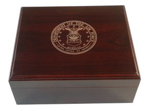 Us Airforce 25-50 Cigar Humidor: Home & Kitchen