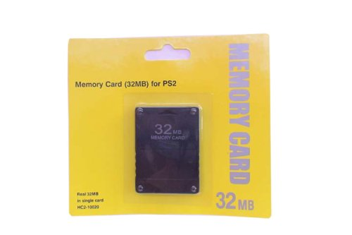 31Wf B0PifL Cheap Price PS2 Memory Card 32MB for Playstation 2 (2 Card Package DEAL)