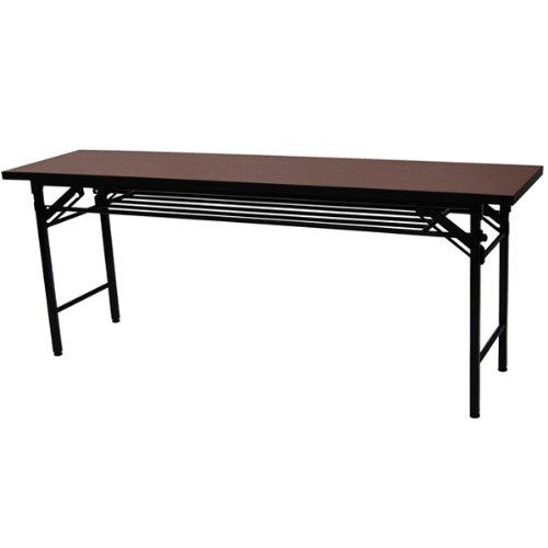エイ・アイ・エス(AIS) 会議テーブルハイタイプ(幅180奥行き45) ブラウン KA-1845L(BR)