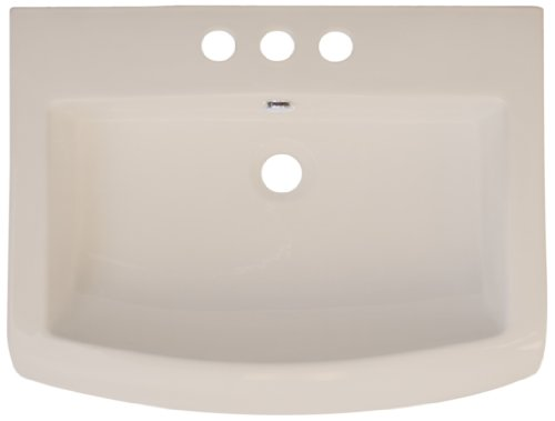American Imaginations 416 23-Inch by 18-Inch Biscuit Ceramic Top with 8-Inch Centers