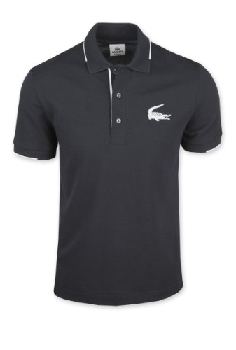 Mens Lacoste Large Croc Polo Shirt – 4