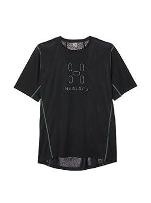 Haglöfs Camiseta Manga Corta Intense Logo (Negro)