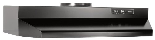 Broan 423023 ADA Capable Under-Cabinet Range Hood, 190 CFM 30-Inch, Black (Kitchen Exhaust Fan Ducted compare prices)