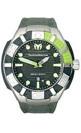 TechnoMarine Cruise BlackReef Grey Dial Men's Watch #512002