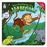 Max Explores the Jungle (Touch and Feel Book)