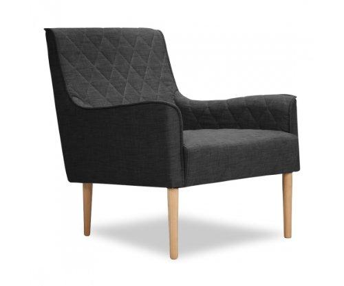 Sessel Dunkelgrau Designer Loungesessel Fernsehsessel von furnitive